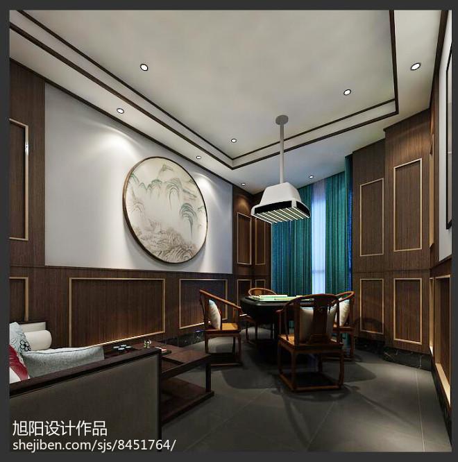 中式茶餐厅设计_3054538