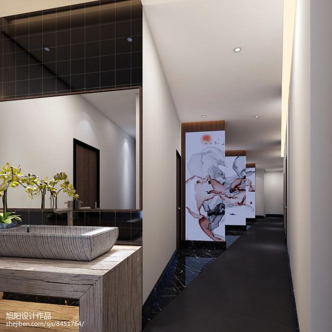 中式茶餐厅设计_3054540