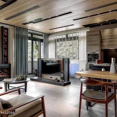 田园风格别墅客厅设计图