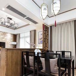 中式家装餐厅设计图