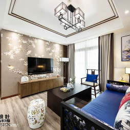 中式家装背景墙墙纸设计图