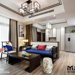 中式家装客厅设计图