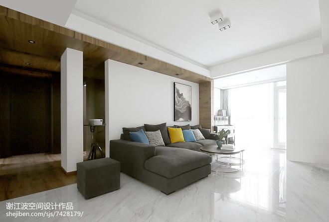 现代家装客厅设计图