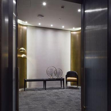 上海弘昌晟集团办公空间室内设计案_3056489