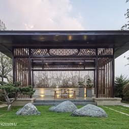 卓越蔚蓝群岛别墅庭院设计图