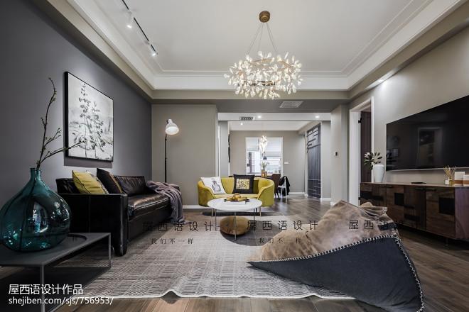 北欧豪宅客厅设计图