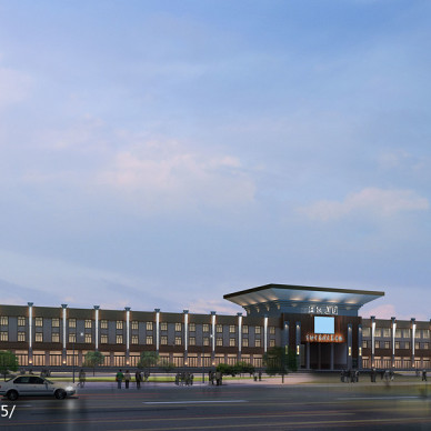 药材交易中心建筑外立面改造项目_3059474