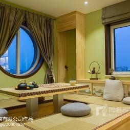 禅意中式别墅休闲区设计图