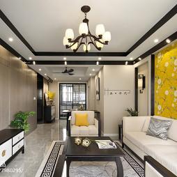 新中式客厅吊灯设计图