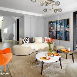 法式别墅客厅设计图片