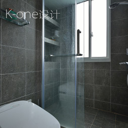 小型简约复式卫浴设计图