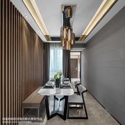 现代客厅餐厅设计图