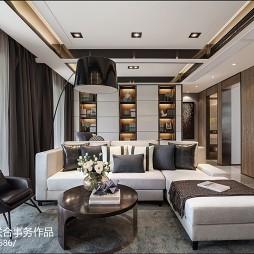 现代客厅客厅实景图