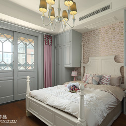 137平方美式儿童房设计图片