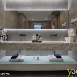 现代豪华卫浴洗手台设计图