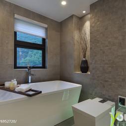 现代豪华卫浴设计图片