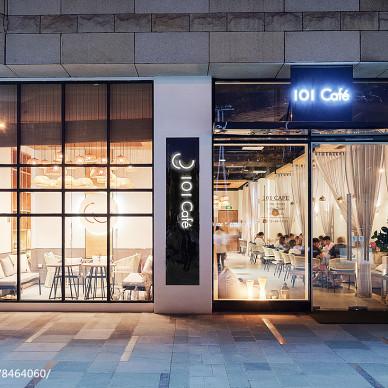101咖啡馆外观设计图
