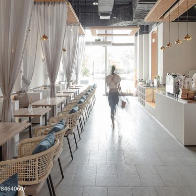 101咖啡馆就餐区设计图