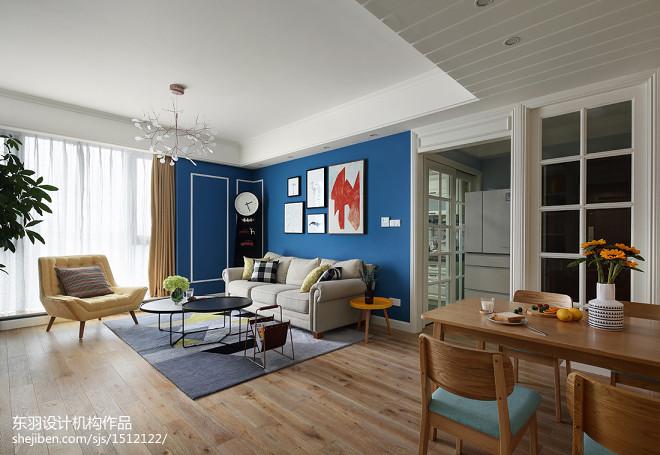 120平方混搭客厅设计图