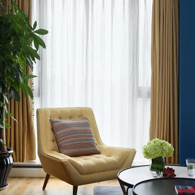 东羽设计机构— — 皇冠花园120平方— — 北欧混搭风格_3078391