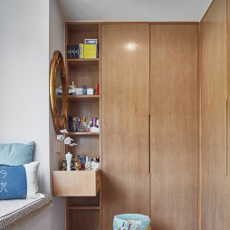 中式卧室衣柜设计图