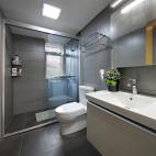 145㎡ 现代简约卫浴设计图片