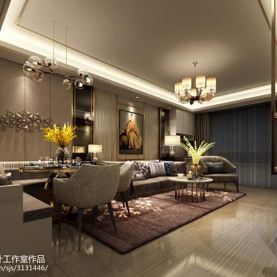 惠民县上海城样板间