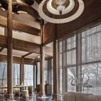 混搭度假酒店茶房设计图