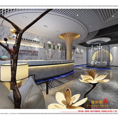 南宁办公室设计 桂投机电