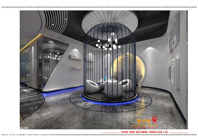 南宁办公室设计 桂投机电_30848