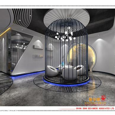南宁办公室设计 桂投机电_3084885