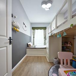 浪漫北欧儿童房设计图