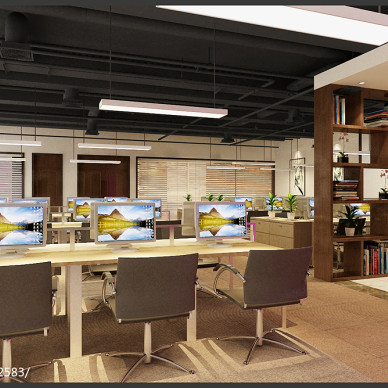长沙海炬电子信息技术有限公司办公设计_3088124