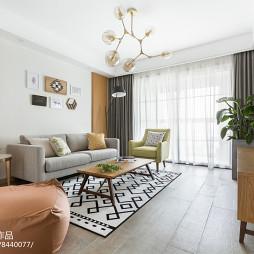 经典北欧客厅沙发设计图