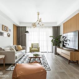 经典北欧客厅整体设计图片