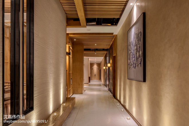 菜根香--泡菜工坊餐厅走廊设计图