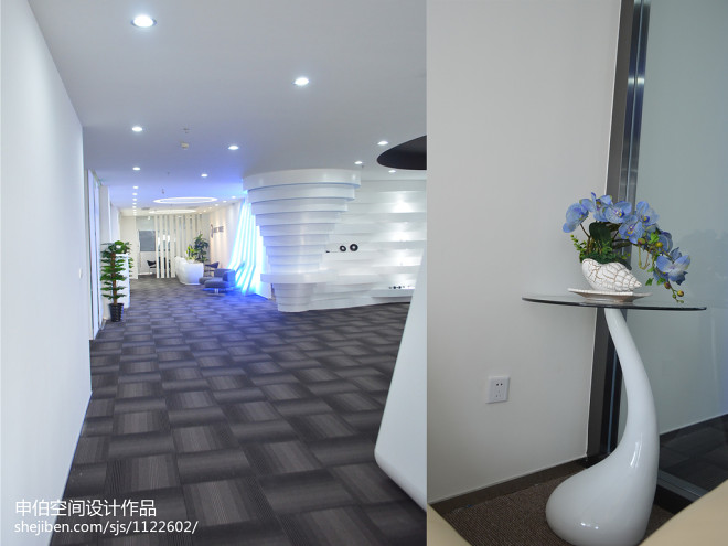 广州魔音公司办公室装修设计案例_30