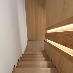 现代二居楼梯图片