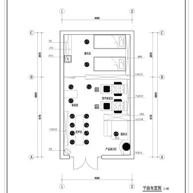 杭州杨杨美丽美甲店设计_3094573