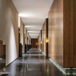 度假酒店走廊设计图片