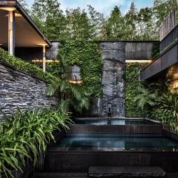 度假酒店花园设计图