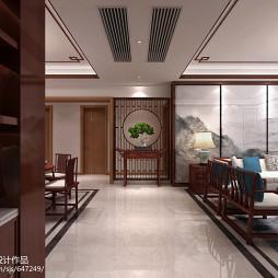 广州番禺大学小筑--新中式风格_3094742