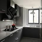 冷灰色北欧厨房设计图