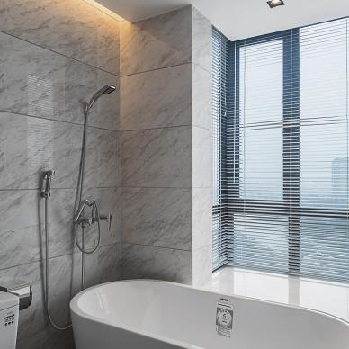 简约卫浴设计效果图