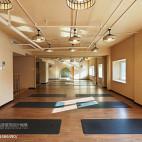 瑜伽会所教室设计图