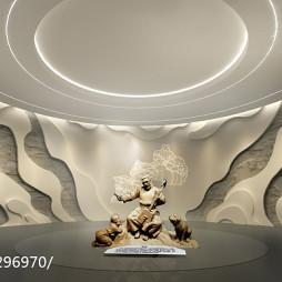 知空间设计作品-舟曲民俗博物馆设计_3097173