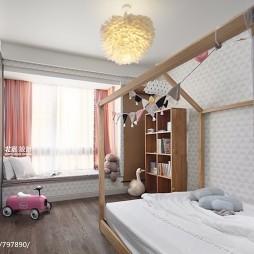 田园三居儿童房设计图片