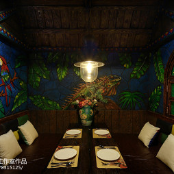 KINGSLIFE凯仕国王西餐厅包厢设计