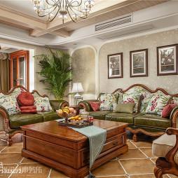 美式三居沙发设计图