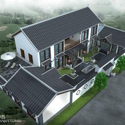 中式民俗四合院设计_3103734